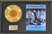 "THE SWEET - 7"" Gold Disc & Song Sheet- BALLROOM BLITZ"